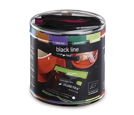 Pure Tea proefdoosje black line
